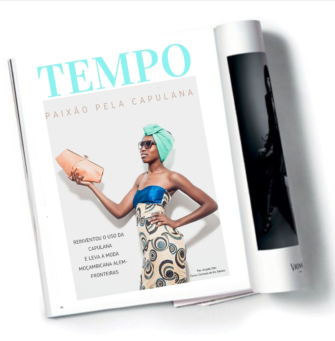 Revista Tempo Moçambique best interview about the latest on capulana fashion